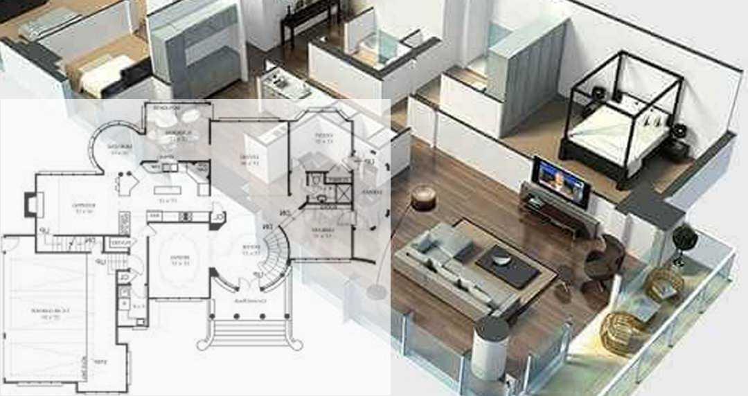 Contoh Denah Rumah Persegi Panjang denah rumah gambar rumah apa bedanya www architecture